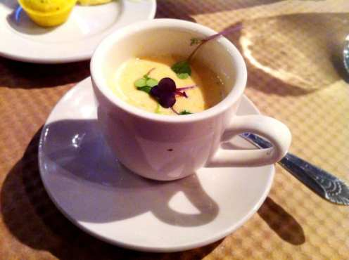 Chesapeake Crab Gazpacho Soup from Kettle Hill