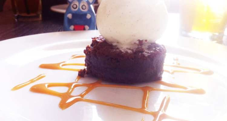 Chocolate Brownie Vanilla Bean Ice Cream from Addie's
