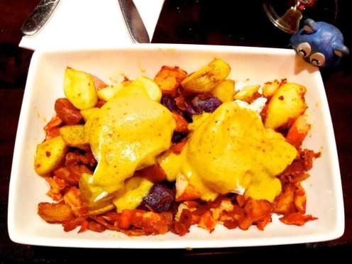 Lobster Hash Egg Benedict $17 for Brunch @ Scion in Silver Spring Maryland