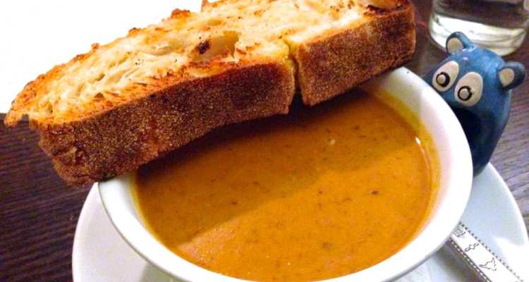 Butternut Squash Soup $6 @ Founding Farmers Rockville
