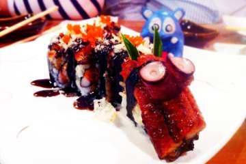 Dragon Roll from Ikko