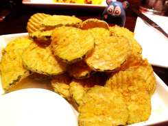 Fried Pickles from Scion Silver Spring