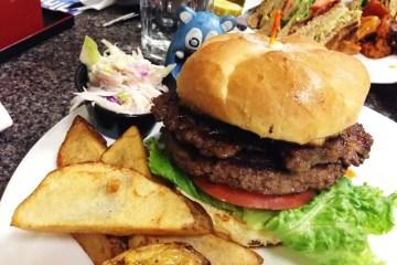Korean Steak Burger $9 @ Mark's Kitchen Takoma Park