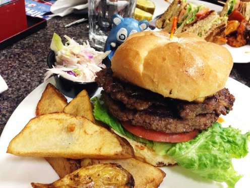 Korean Steak Burger $9 @ Mark's Kitchen Takoma Park