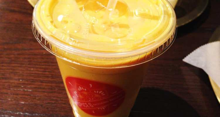 Mango lassi from Spice 6