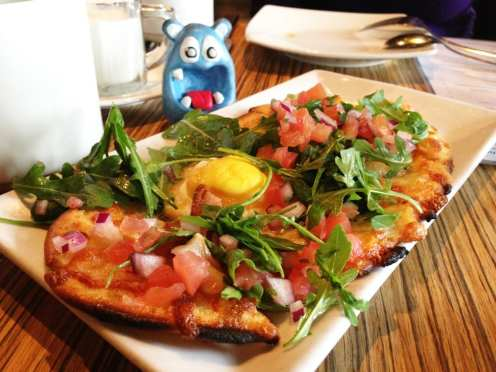 Masa Breakfast Pizza Tapas $7 @ MASA 14 on U St in DC