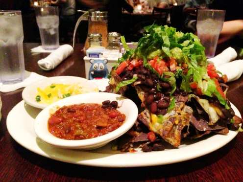 Nachos Beef Chili from Busboys and Poets U st