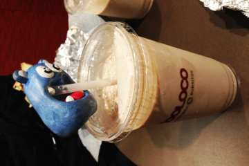 Nutella Milkshake from Boloco