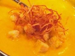 Pumpkin Soup from Sushi Jin