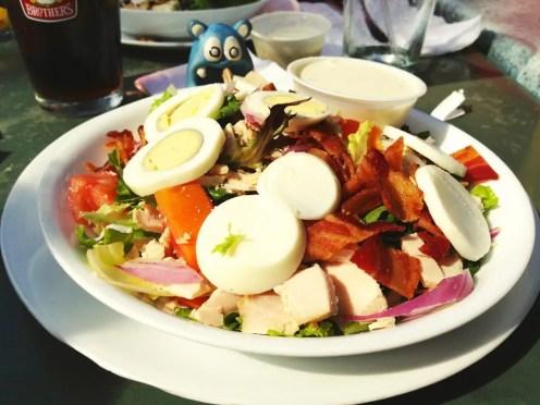 Roasted Turkey Cobb Salad from Trio