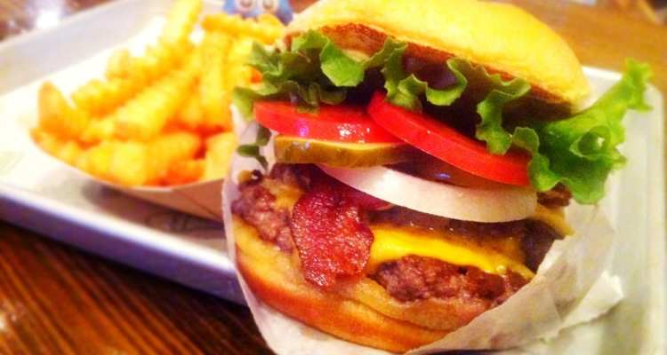 SmockShack Burger from Shake Shack Dupont