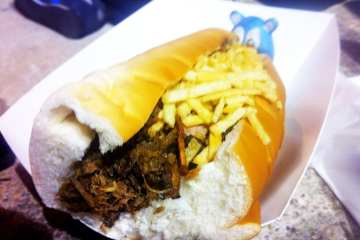Tripletas Sandwich from Borinquen Lunch Box