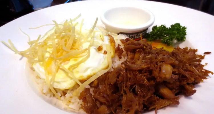 Adobo Flakes $4 @ Whistlestop in Makati Philippines