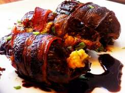 Bacon Wrapped Dates from Founding Farmers MoCo