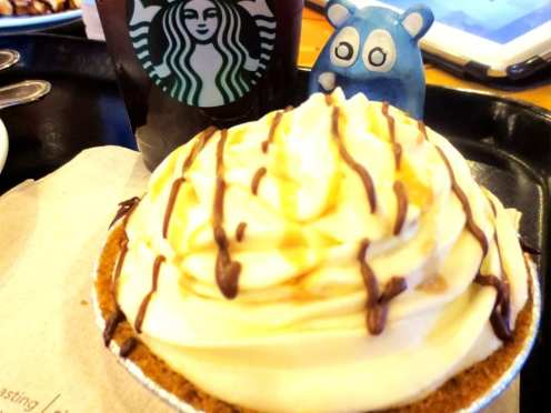 Banoffee Pie from Starbucks Philippines