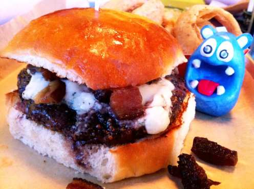 Big Daddy Bacon Burger $8 @ Burger Tap & Shake Foggy Bottom