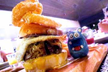 Big Daddy's Burger from Amorita Resort Bohol Philippines