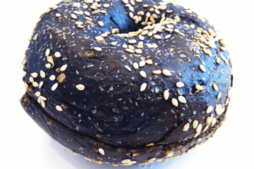 Black Russian Bagel from Goldberg's Bagels
