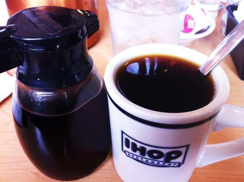 Butter Pecan Syrup Coffee from IHOP