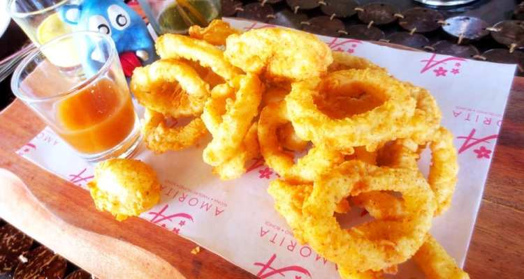 Calamari from Amorita Resort Bohol Philippies
