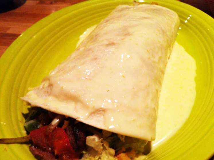 California Style Burrito from El Ranchero