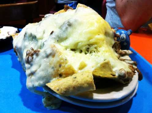 Pile High Nachos Chicken from Chacho's