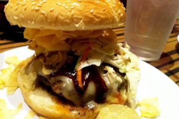Dallas Burger Crunchified from Bobby's Burger Palace