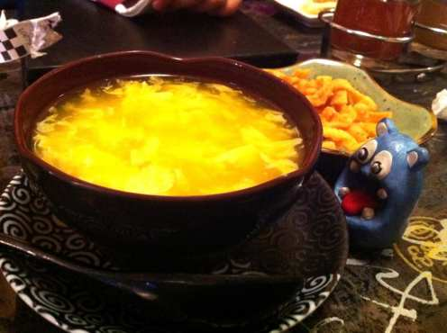 Egg Drop Soup from Young Chow