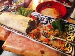 El Cachudo Burrito from Guajilo Mexican