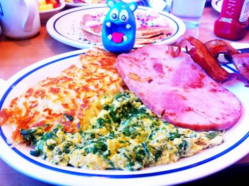 Green Eggs & Ham from IHOP
