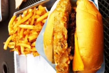 Half the Guilt Burger from Elevation Burger