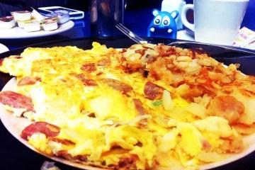 Italian Omelette from Skylight Diner New York City