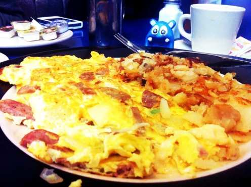 Italian Omelette from Skylight Diner New York City