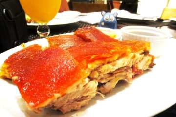 Lechon Asado from Abe Manila Philippines