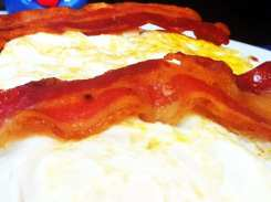 Lumberjack Pancakes from Skylight Diner New York City