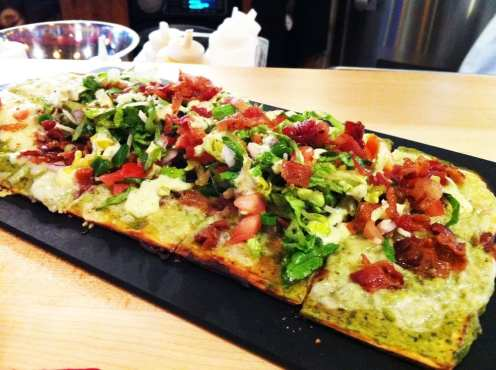 Mackinac Flatbread from Stone's Cove Kitbar in Herndon