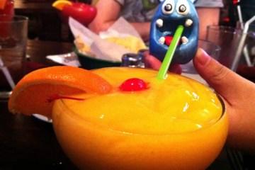 Melon Margaritas from Guapos
