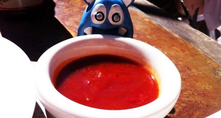Big Red Sauce from Monterey San Antonio Texas