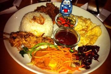 Nasi Uduk from Cafe Asia