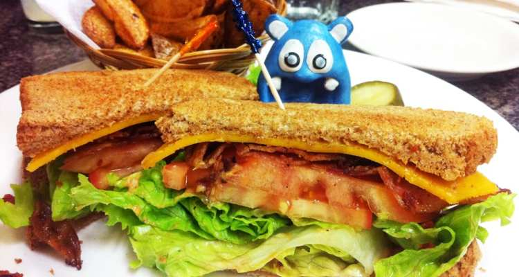 Peanut Butter BLT Sandwich from Mark's Kitchen