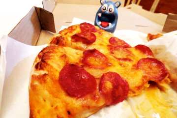 Pepperoni Pizza @ Shakey's Pizza in Manila Philippines