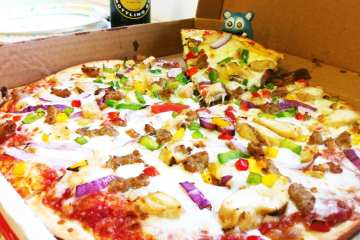 Raging Cajun from Naked Pizza