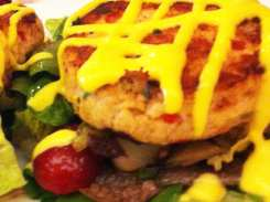 Salmon Cakes from Lia's