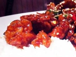 Sesame Chicken from Big Bowl