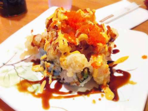 Shrimp Mountain Roll from Ikko