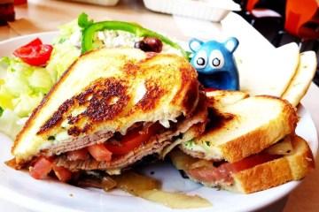 Steak Stack Sandwich from Zoe's Kitchen Rockville Maryland