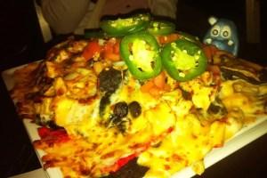Supreme Chicken Nachos from Penn Social