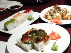Sushi from Sushi Zushi