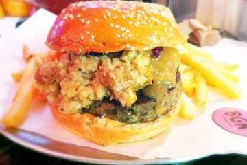 Thanksgiving On A Bun Burger from BGR