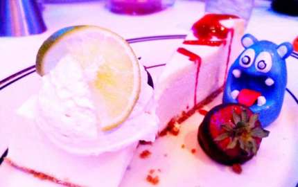 Three Deserts from Oceanaire Seafood Room